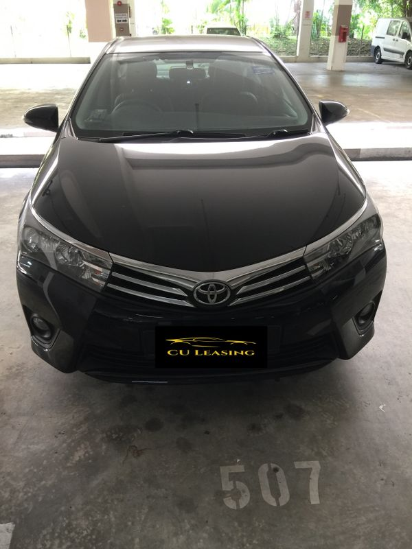 New Toyota Altis for Rent