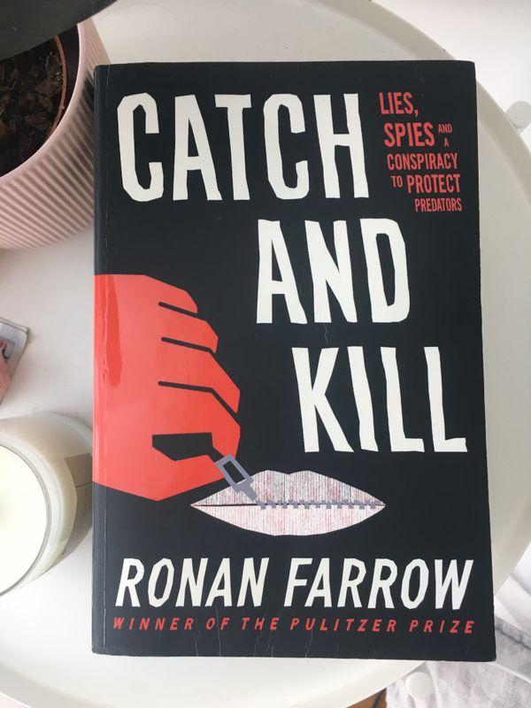 Book: Catch and Kill by Ronan Farrow