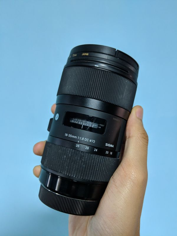 Sigma 18-35mm F/1.8 DC Art lens (Canon)