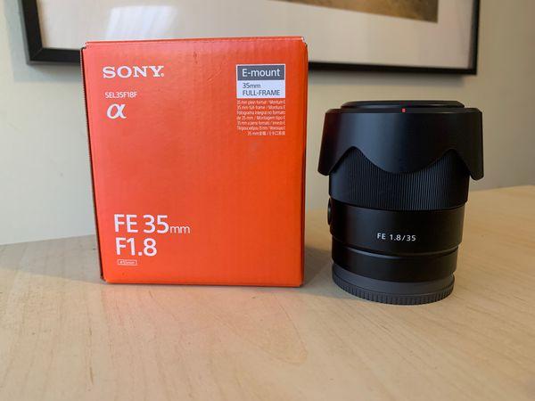 Sony 35mm F1.8 OSS E-mount LENS