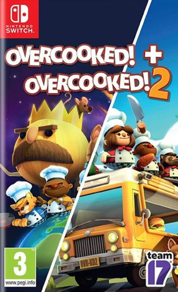 (Nintendo Switch) Overcooked Special Edition + Overcooked 2