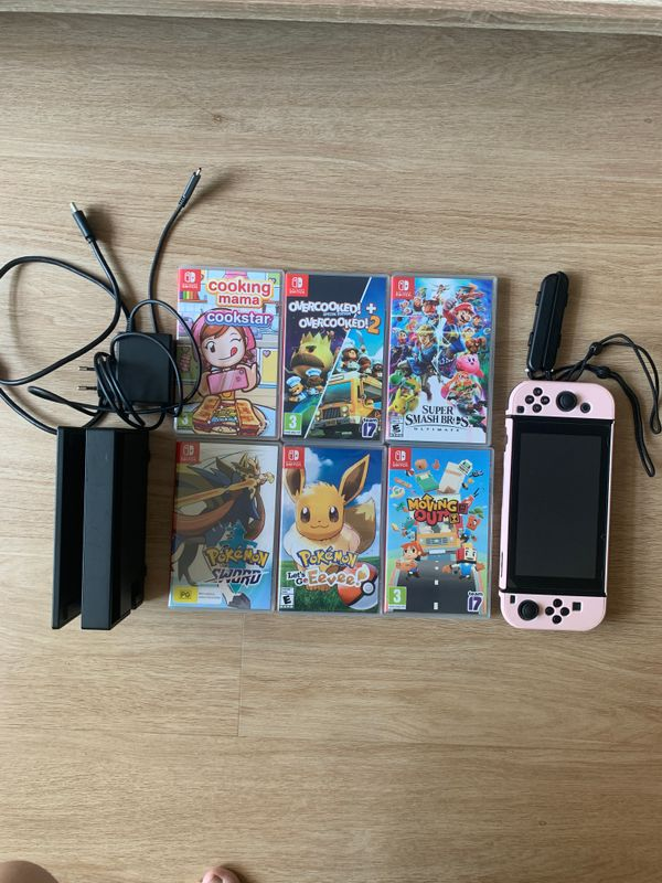 Nintendo Switch Console, Joycons and Games Rental