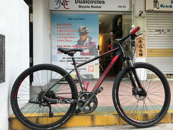 Polygon Heist hybrid bicycle