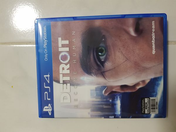 Detroit Become Human (Ps4 Game)