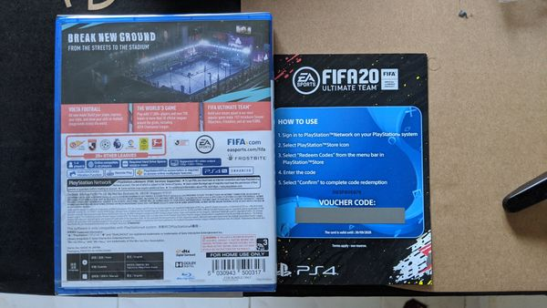 FIFA 20 R3 SEALED