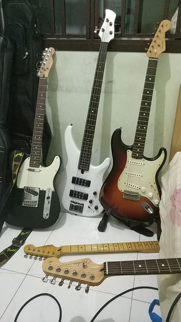 Guitars And Bass