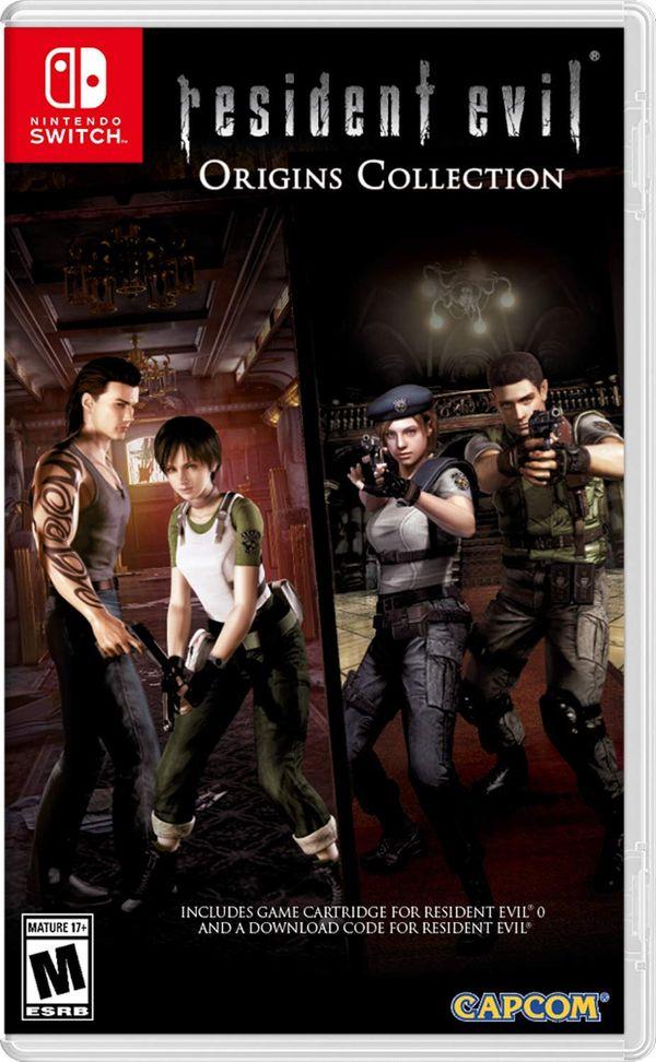 Nintendo Switch Game: Resident Evil Origins