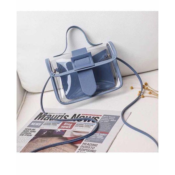 Blue Crystal Clear Gummy Bag