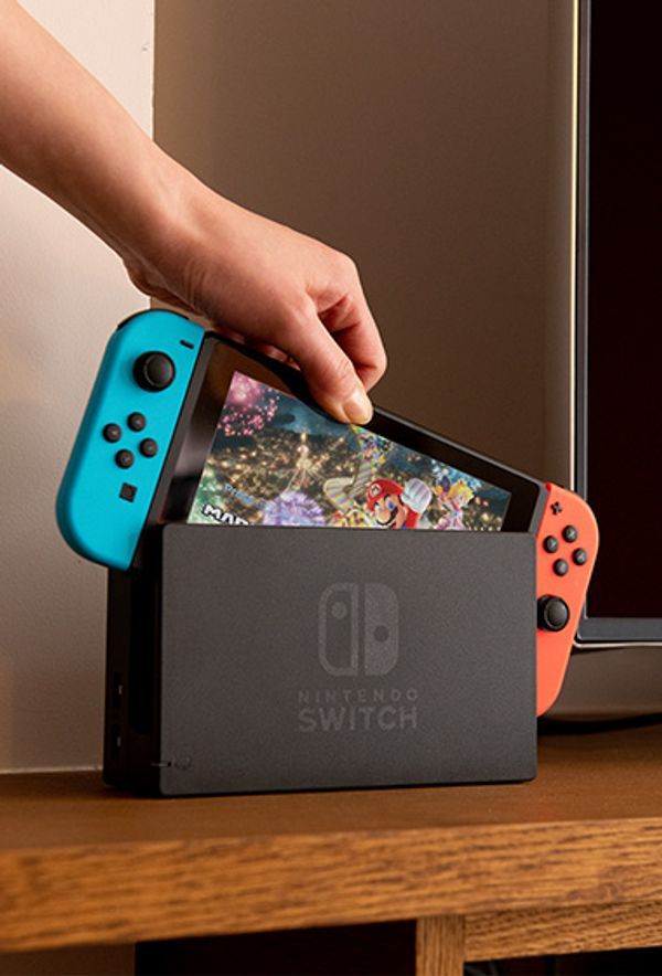 Nintendo Switch with Games
