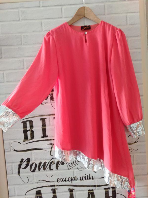 Sweet Pink Sequin Top