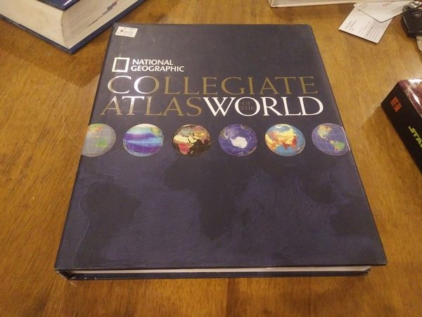 Atlas Of The World By National Geographic