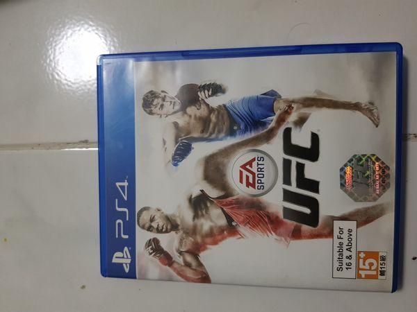 UFC (Ps4 Game)