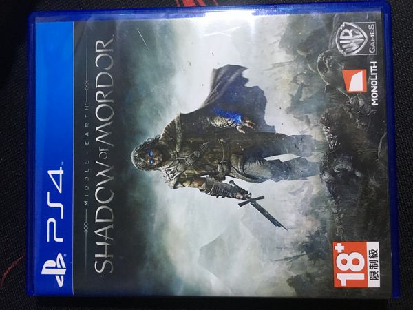 Shadow of Mordor for the PS4