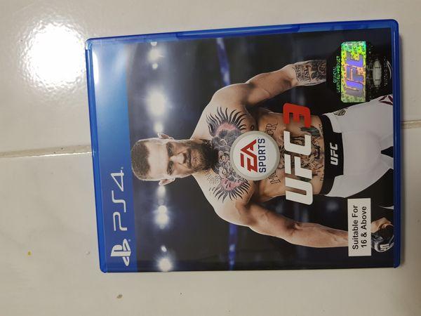 UFC 3 (Ps4 Game)