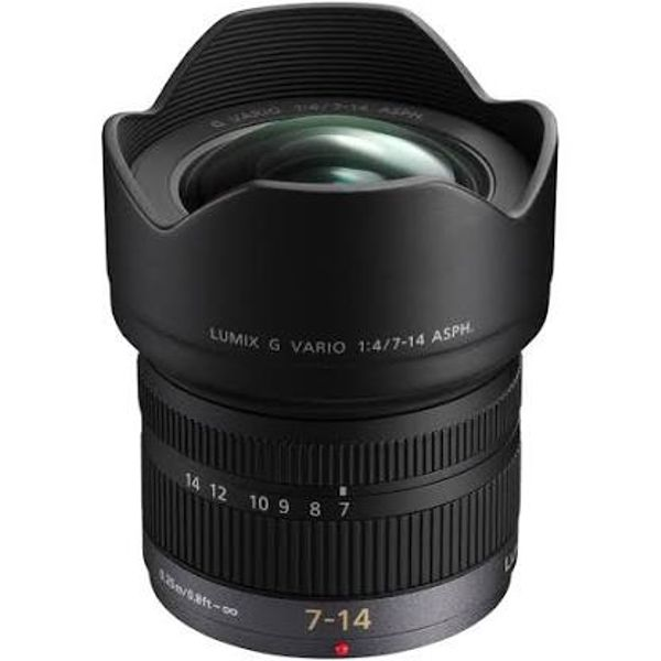 Panasonic 7-14mm F4 lens