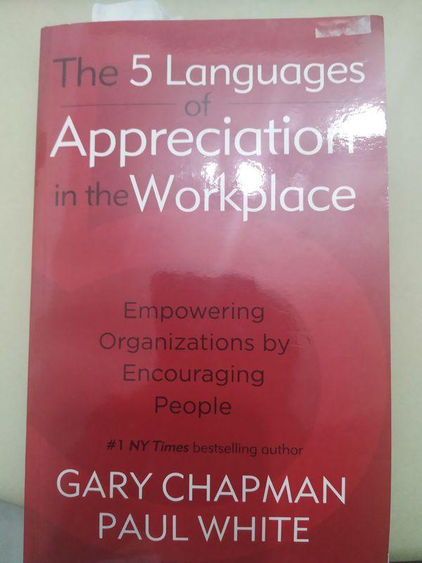 The 5 Language Of Appreciation