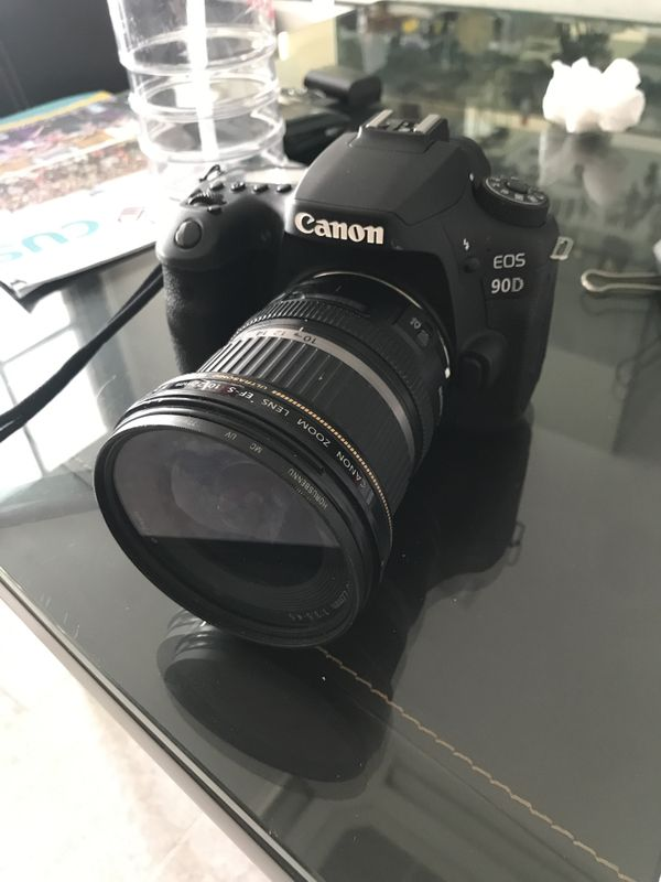 Canon 90D with 📷 10-22mm Lens (EF-S)