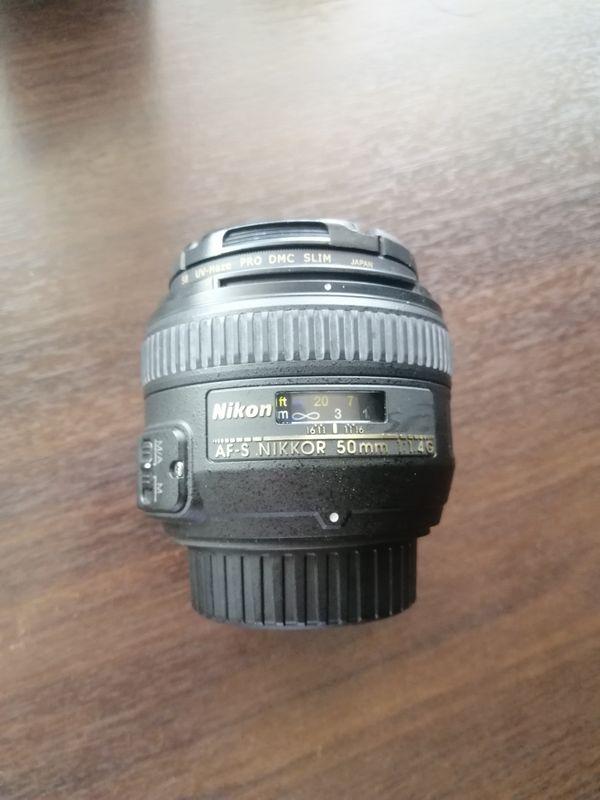 Nikon 50mm F1.4 G AFS