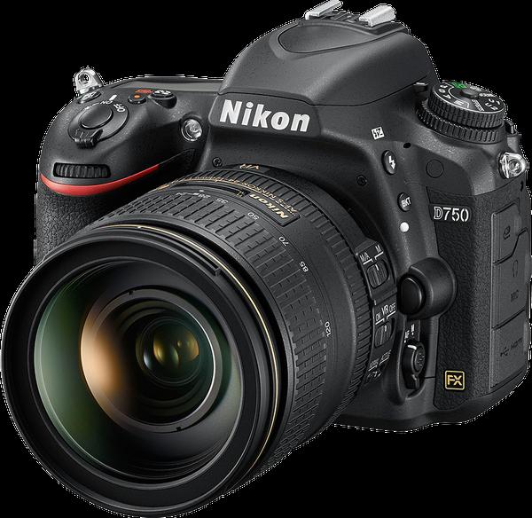 Nikon D750 Body and SD Card