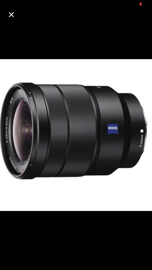 Sony Vario-Tessar T* FE 16-35mm f/4 ZA OSS Lens: