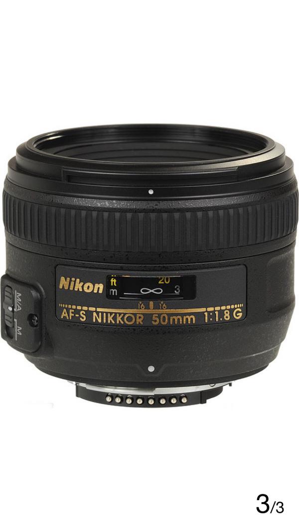 Nikon AF-S NIKKOR 50mm f/1.8G Lens Lens