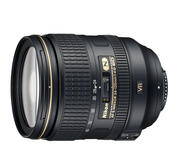 AF-S Nikon 24-120mm F4 ED VR Lens