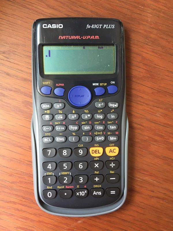 Casio Calculator Fx-83GT Plus