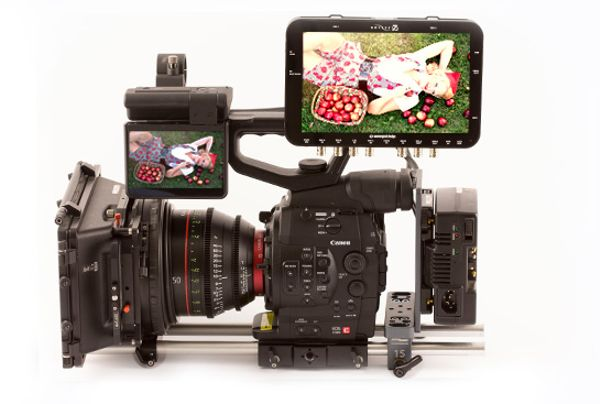 Canon Complete C500 With 6 Prime Lenses