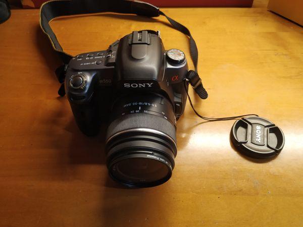 Sony CX550 Set (Body+Lens)