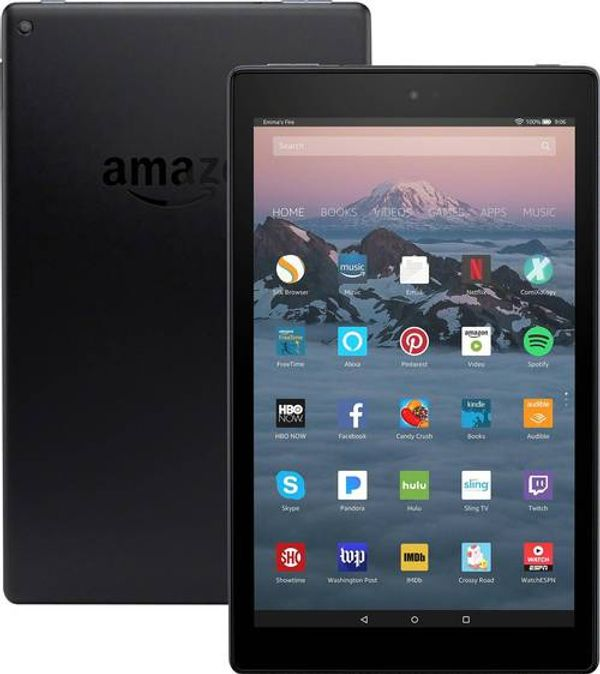 Amazon Fire HD 10 2018 - Black - 32 GB