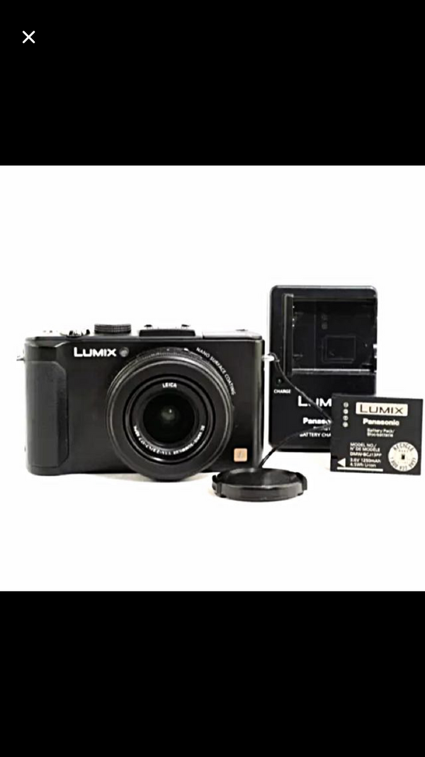 Lumix lx-7 digital camera