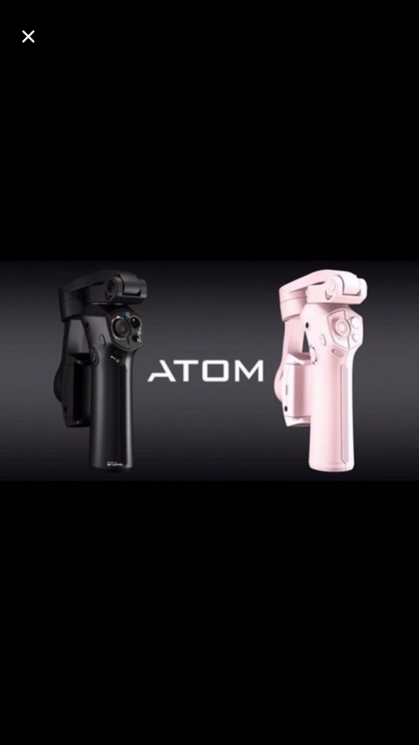 snoopa atom portable mobile gimbal