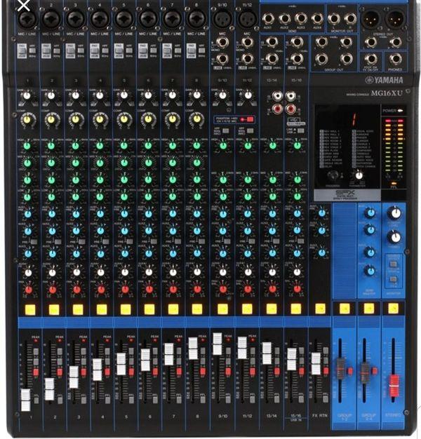 Yamaha 16 Channel Mixer