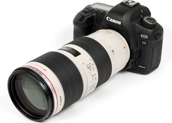 Canon 5D Mkiii Set With 70-200mm f2.8L II Lens And Tripod