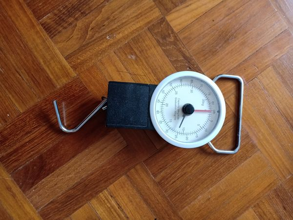 Luggage Weighing Device