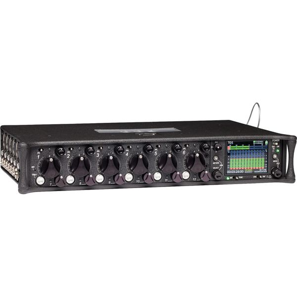 Sound Devices 688 12-input digital field mixer with 16-track integrated recorder and timecode