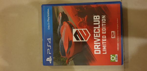 Driveclub Limited Edt PS4