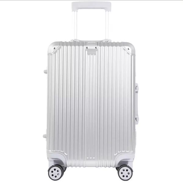 Aluminium Frame Cabin Size Trolley Suitcase