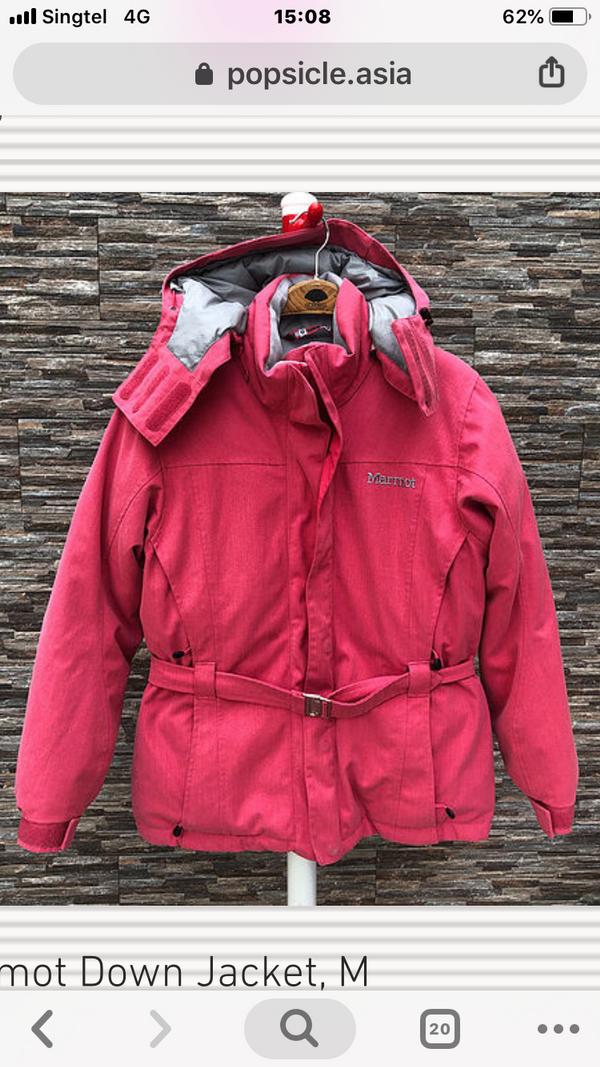 Marmot Down Jacket, XS, S, M, L, XL