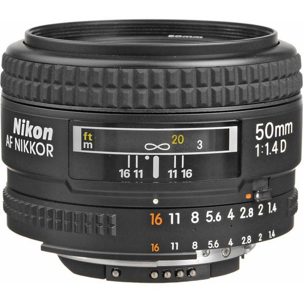 50mm Nikon Lens F1. 4