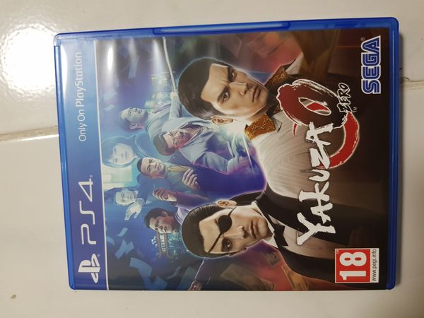 Yakuza Zero (PS4 Game)