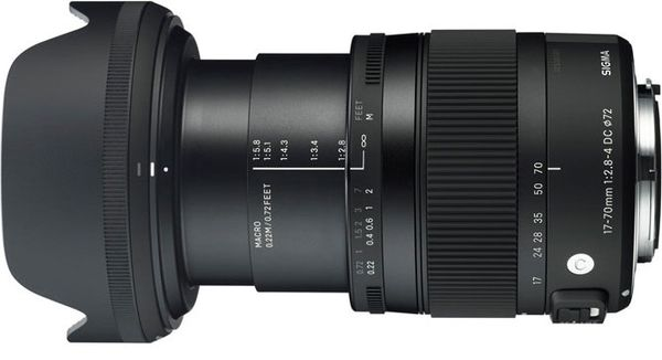 Sigma 17-70mm f/2.8-4 dc micro canon mount