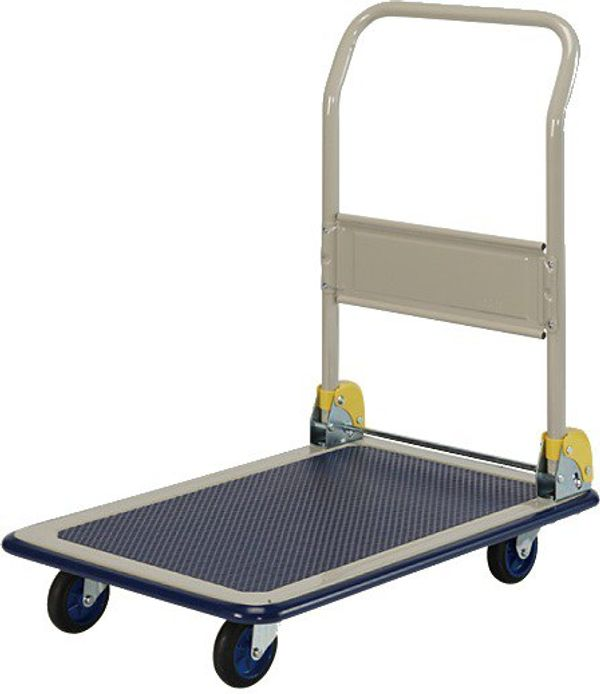 4 Wheel Foldable Trolley