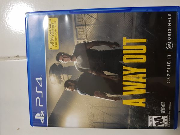 A Way Out (PS4 Game)