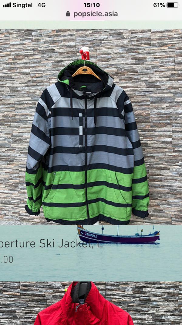 Ski Jacket,  S, M, L, XL