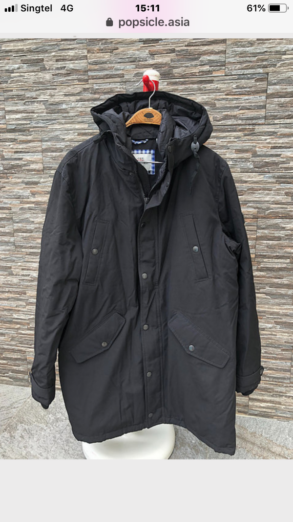 Winter Down Jacket,  S, M, L, XL