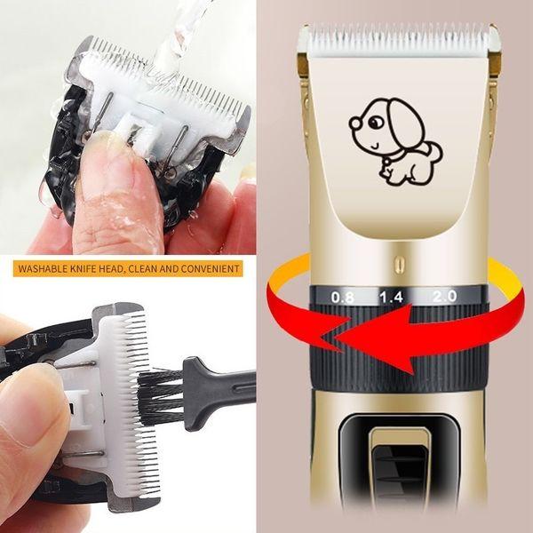 Pet Fur Shaver w Head Attachment + Motor Oil