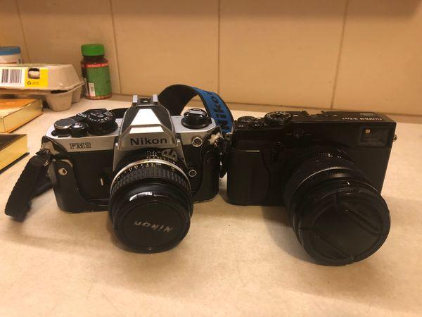 Nikon PM 2 film camera