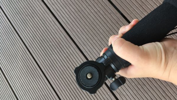 Monopod (extendable) with ball head