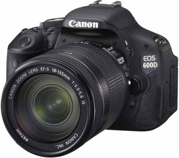 Canon 600D w/ 18-135mm lens